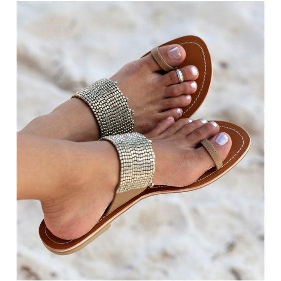 Preparando la maleta de agosto... sandalias planas