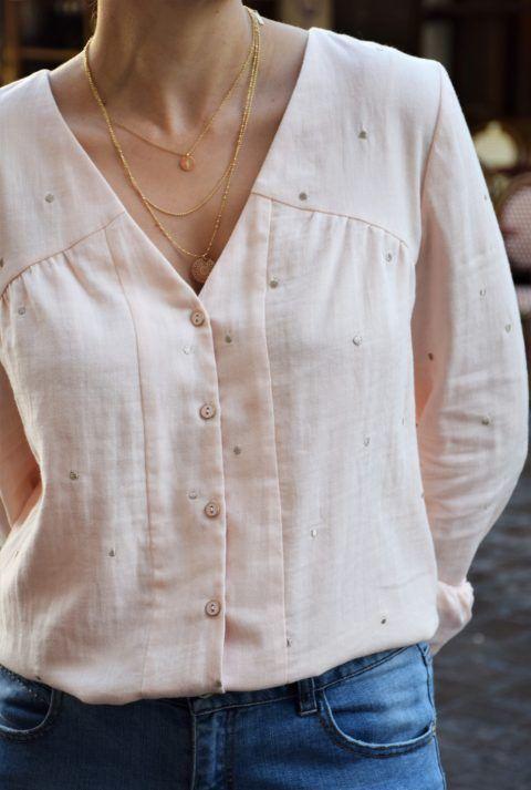 Cómo saber si una camisa es de mujer